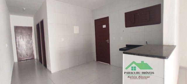 Ampla casa nova com dois quartos pertinho da rádio mar azul em Paracuru - Foto 7