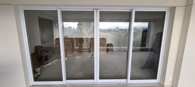 Esquadria em aluminio Branca/ porta varanda - Unidese - NOVA - Foto 3
