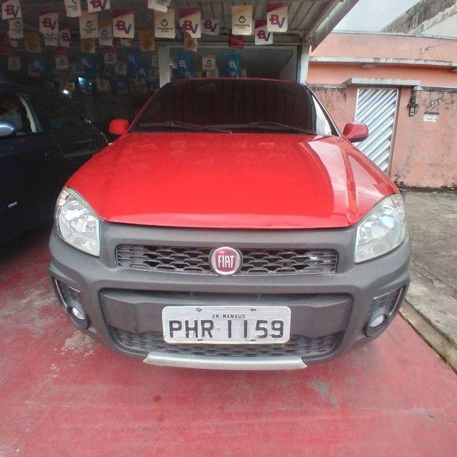 Fiat strada 2019 1.4 Working 3 portas CD completa financia se - Foto 5