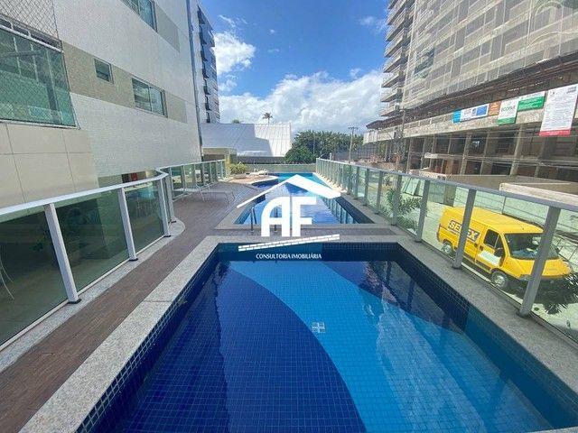 Apartamento com varanda com vista permanente para o mar - Localizado na Ponta Verde - Foto 15