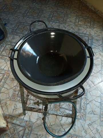 Fritadeira de salgado 15 litros  - Foto 4
