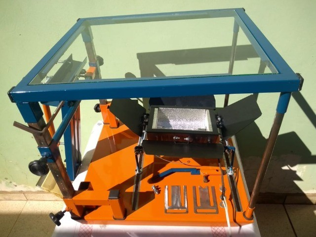 Maquina de Silk Screen Jeferson Machines Sem uso... - Foto 6