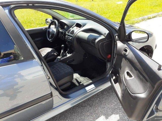 Direto Sem Consulta na Global-Peugeot 206 Pres 1.4 -2005 Completo r$7.790 Leia o Anúncio - Foto 12