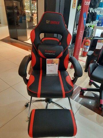 Cadeira gamer gt red