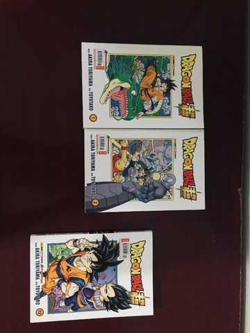 Mangá Dragon Ball Super - Vol. 1, 2 e 12 - Foto 2