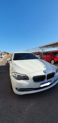 Torro! Ipva Pago!!! BMW 528I 2.0 Turbo - Top de Linha, 2013, interior Caramelo, 245 Cv - Foto 8
