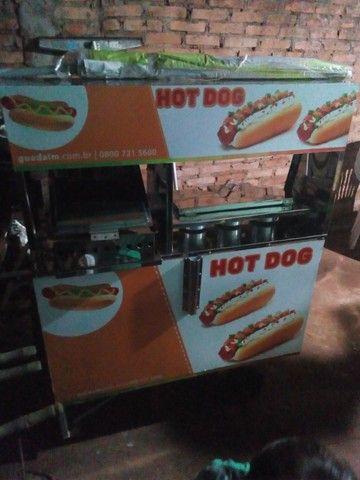 Carrinho de Hot Dog semi novo - Quase sem uso - Foto 2