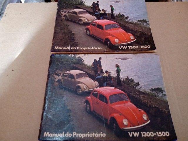 Manual Proprietário Volkswagen Todos Modelos e Versões Originais Fábrica