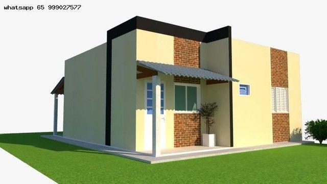 Casa para Venda em Várzea Grande, Nova Fronteira, 2 dormitórios, 1 suíte, 2 banheiros, 2 v - Foto 4