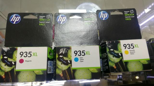 Cartucho hp 935xl