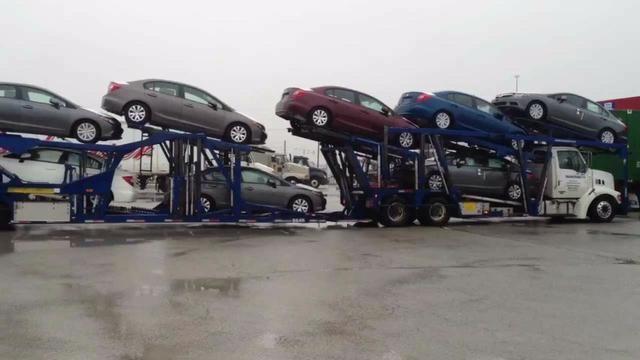 Transporte de carro