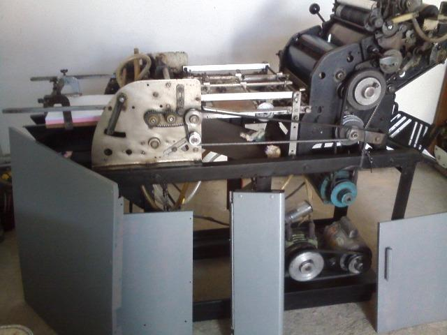 Maquina Offset Oficio Multiliti