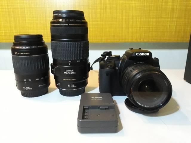 Canon Kiss Digital X (+lentes)