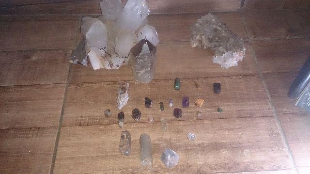 Pedras preciosas e/ou semi preciosas