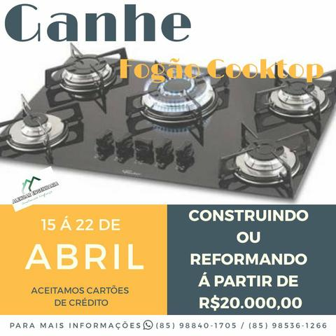 Ganhe Fogão Cooktop (LEIA O ANÚNCIO)