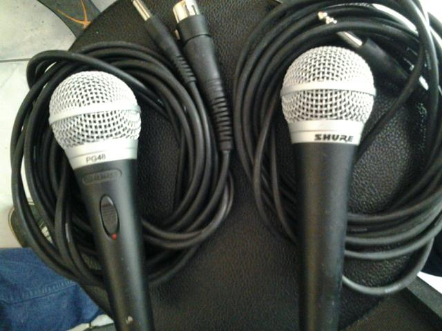 Microfone Shure pg48