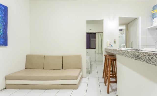 Flat 103, 4º pavimento Boa Viagem, completíssimo, Praia e Shopping Center - Foto 4