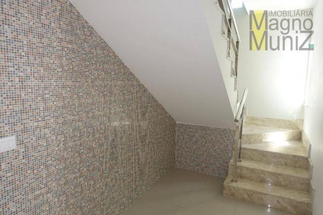 Porteira fechada - excelente casa duplex nova - Foto 17
