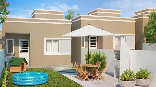 Casa Em Araucaria 2 e 3 dormitórios 100 % parcelado