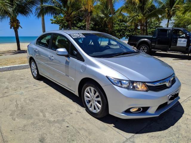 Honda Civic Semi Novo Completo e Automatico 2014 Conservado - Foto 3