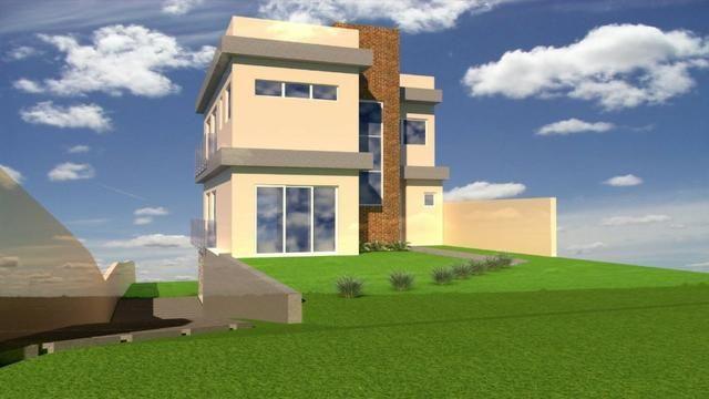 Terreno 666m² 16x41 projeto de casa Alto Padrão em anadamento - atrás Opera de Arame - Foto 3