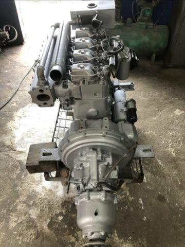 Motor mwm maritimo 229 com reversor hidráulico 2x1.zerado - Foto 5
