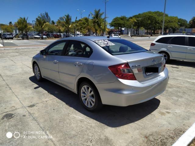 Honda Civic Semi Novo Completo e Automatico 2014 Conservado - Foto 9