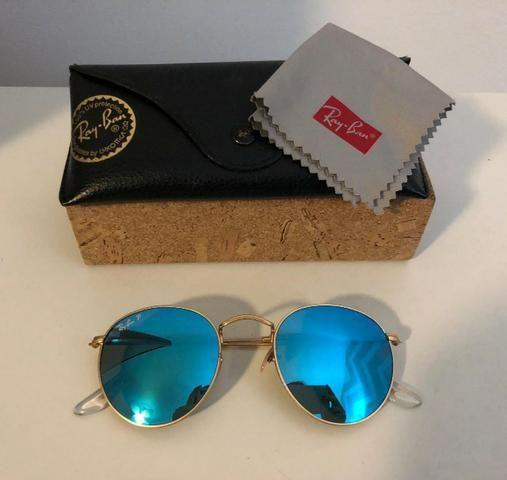 099c38a8264fe Óculos De Sol Ray-ban Round - Bijouterias, relógios e acessórios ...