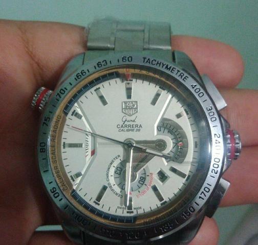 92a2e67fb81 Relógio Tag Heuer Grand Carrera calibre 36