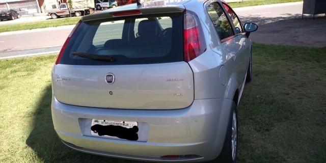 Fiat Punto Essence 1.6 - 16V, completo, IPVA pago - Foto 4