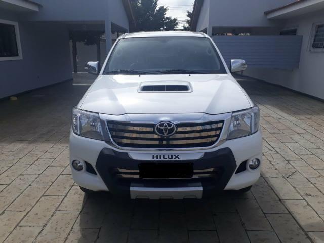 Hilux SRV 3.0 D-4D 2014 Particular bx Km impecável Acessórios - Foto 2