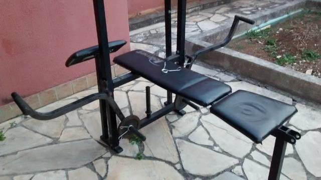 Estação de Musculação Residencial TCB16 - Polimet - Foto 4