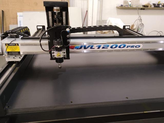 Router JVL 1200pro 1220 x 1450mm mesa Pronta entrega - Foto 3