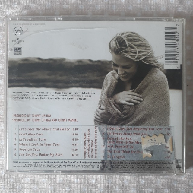 CD Diana Krall - When I Look in Your Eyes - Foto 2