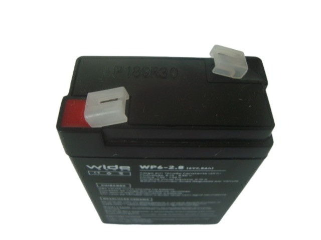 Bateria Selada 6V 2.8Ah - Balanças / Alarmes / Luz de Emergência Etc - Foto 3