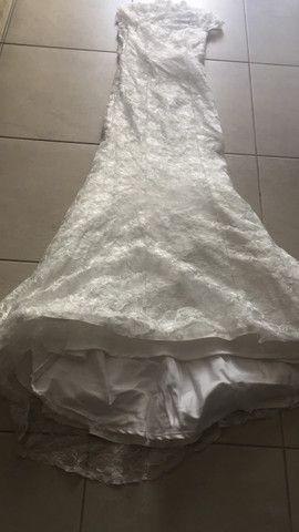 Vestido de noiva renda