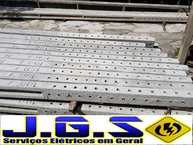 Poste concreto 100/7 (7 metros) DT Celpe - Foto 3
