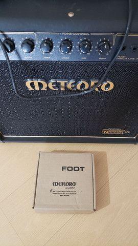 Amplificador Meteoro Nitrous 100 com falantes Voghan (venda/troca) - Foto 3