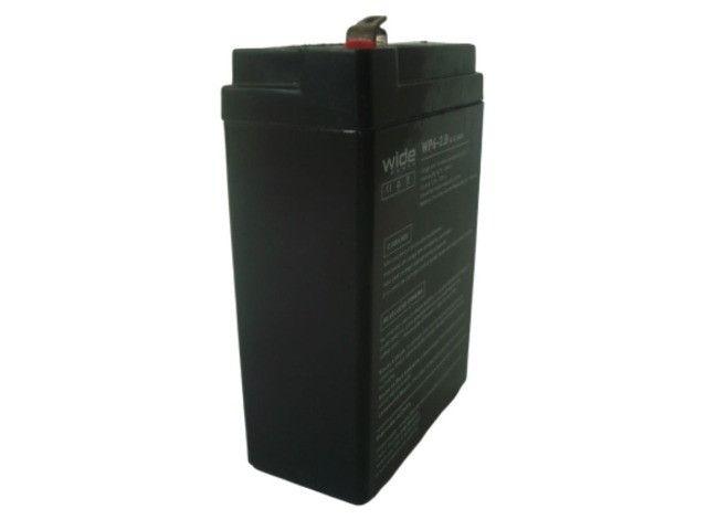 Bateria Selada 6V 2.8Ah - Balanças / Alarmes / Luz de Emergência Etc - Foto 4