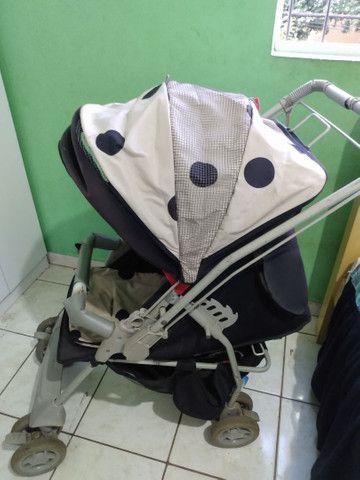 Vendo este carrinho de bebê da galzerano - Foto 2