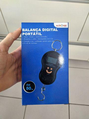 Balança Digital Portátil até 50 kg