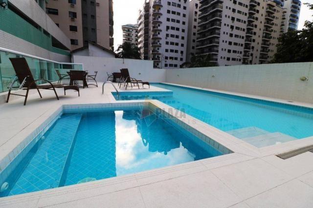 Apartamento para alugar, 100 m² por R$ 3.000,00/mês - Canto do Forte - Praia Grande/SP - Foto 14
