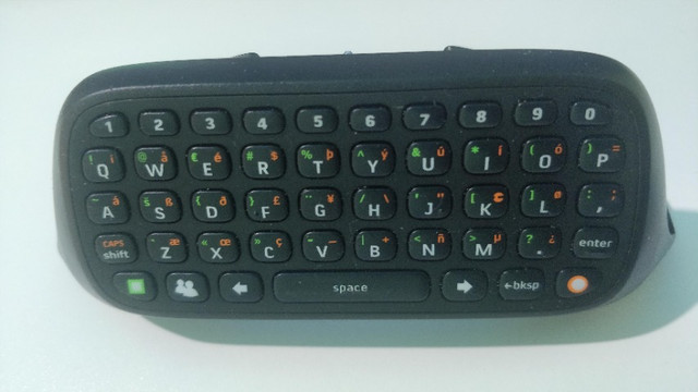 Chat Pad Xbox 360 Original Teclado Para X360 Original - Foto 3