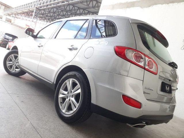 Hyundai Santa Fe 3.5 Mpfi GLS 7 L V6 2010/2011 Prata Blindado - Foto 2