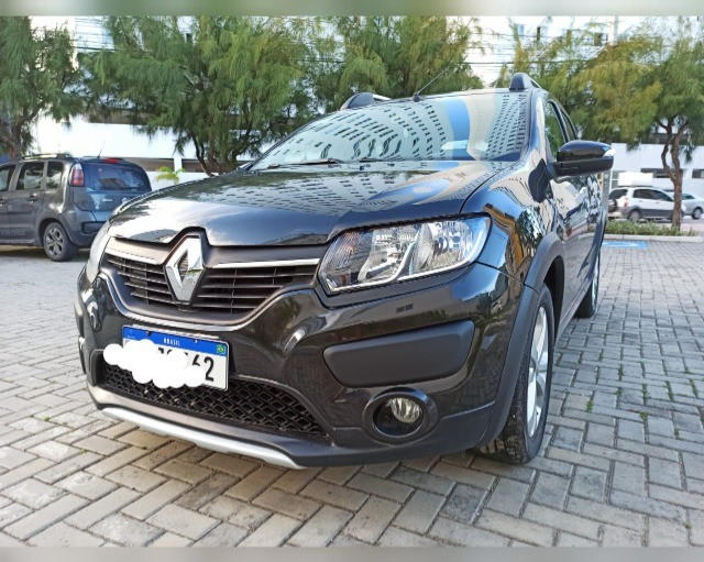 Sandero stepway 2017 emplacado 2021 - Foto 3