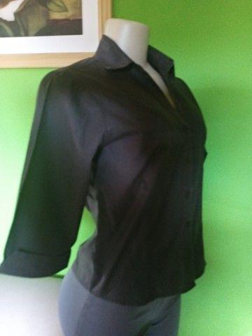 Camisa Feminina Preta -M - Foto 2