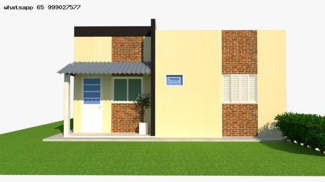 Casa para Venda em Várzea Grande, Nova Fronteira, 2 dormitórios, 1 suíte, 2 banheiros, 2 v