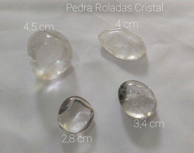 Vende-se 4 Pedras Roladas Cristal.