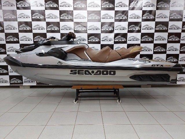 Jet Ski Sea Doo GTX Limited 2018 com áudio - Seminovo - Foto 5