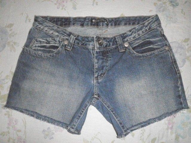 Short Jeans pré lavado - 42